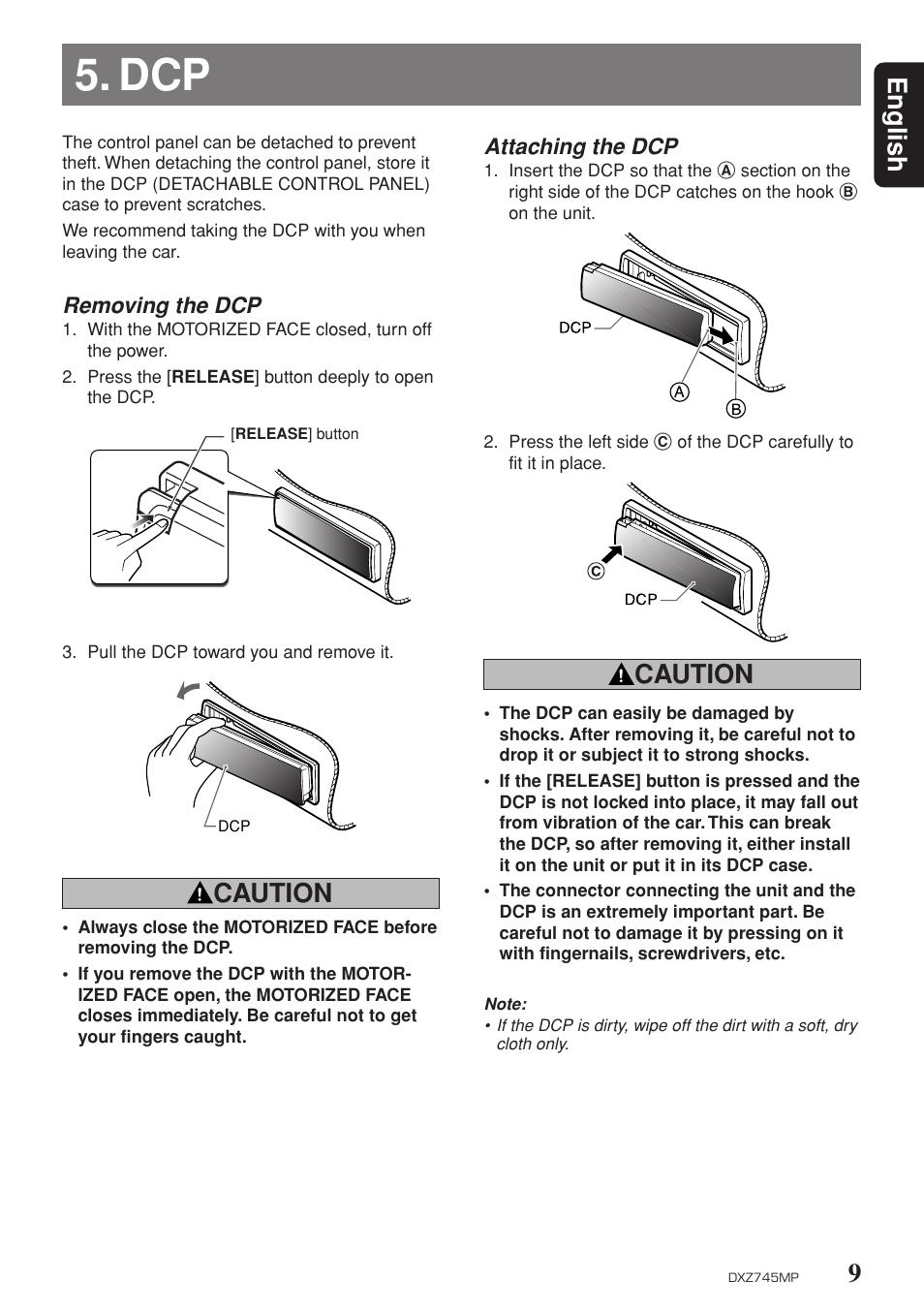 9english caution clarion dxz745mp user manual page 5 32 rh manualsdir com RV Toilets Installation Diagrams O-Ring Installation Guide