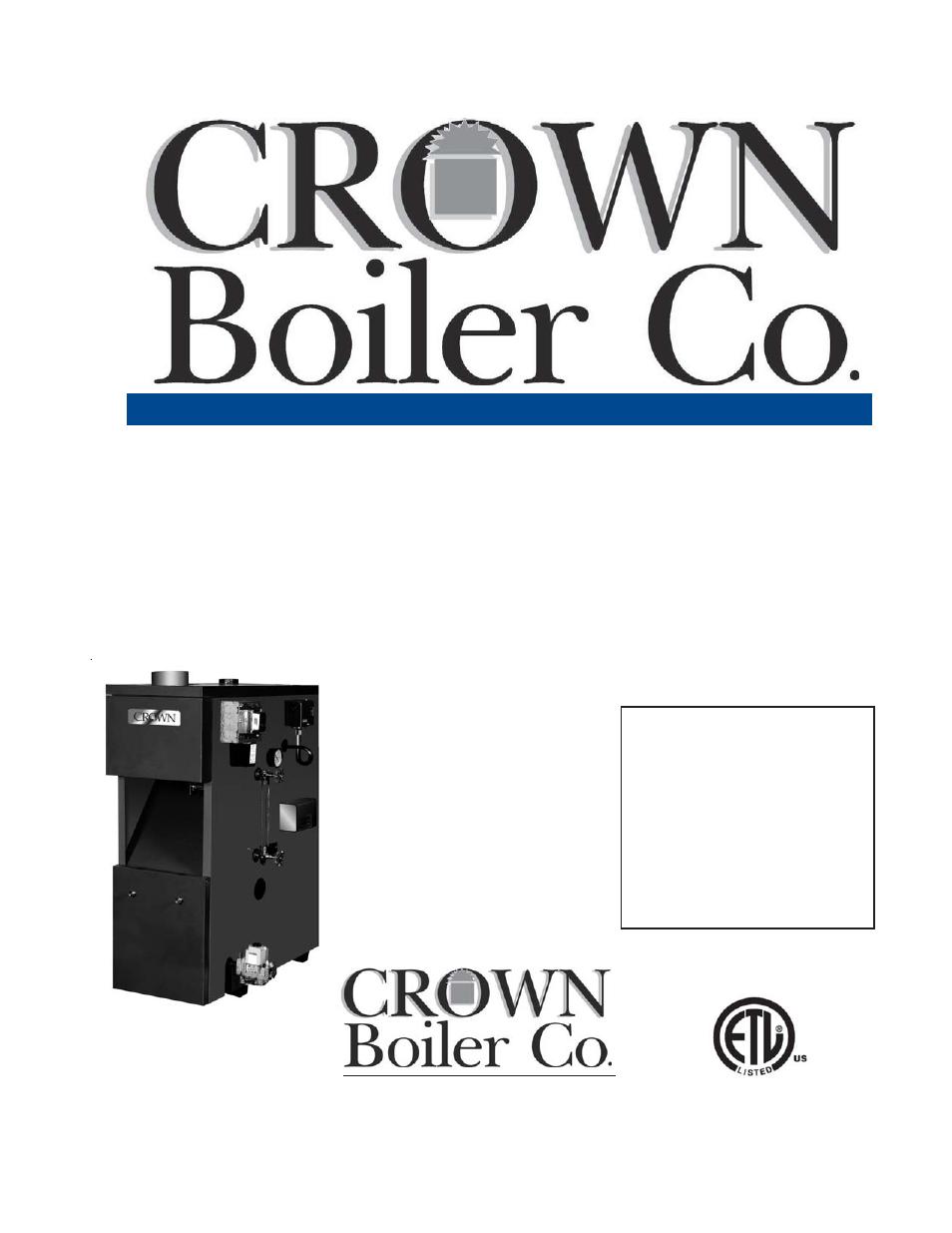 crown boiler bsi103 user manual 54 pages also for. Black Bedroom Furniture Sets. Home Design Ideas