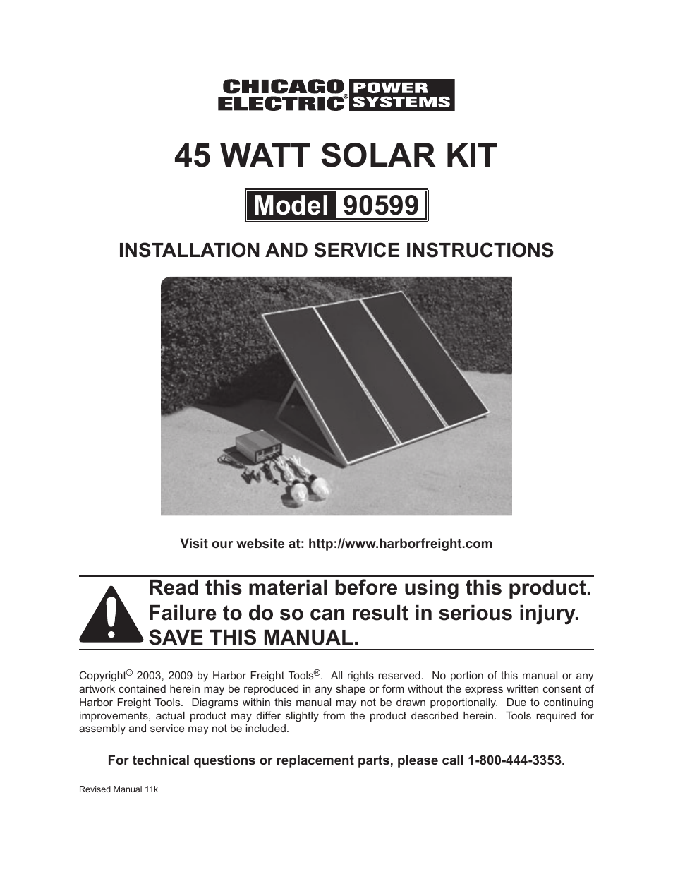 Chicago Electric 45 Watt Solar Kit 90599 User Manual | 11 pages on sears solar panels, do it yourself solar panels, installing solar panels, northern tool solar panels, macy's solar panels, pretty solar panels, mini solar panels, home depot solar panels, portable solar power panels, smartpool solar panels, old solar panels, lowe's solar panels, hot air solar panels, amazon solar panels, roll up solar panels, menards solar panels, costco solar panels, ebay solar panels, used solar panels, build solar panels,