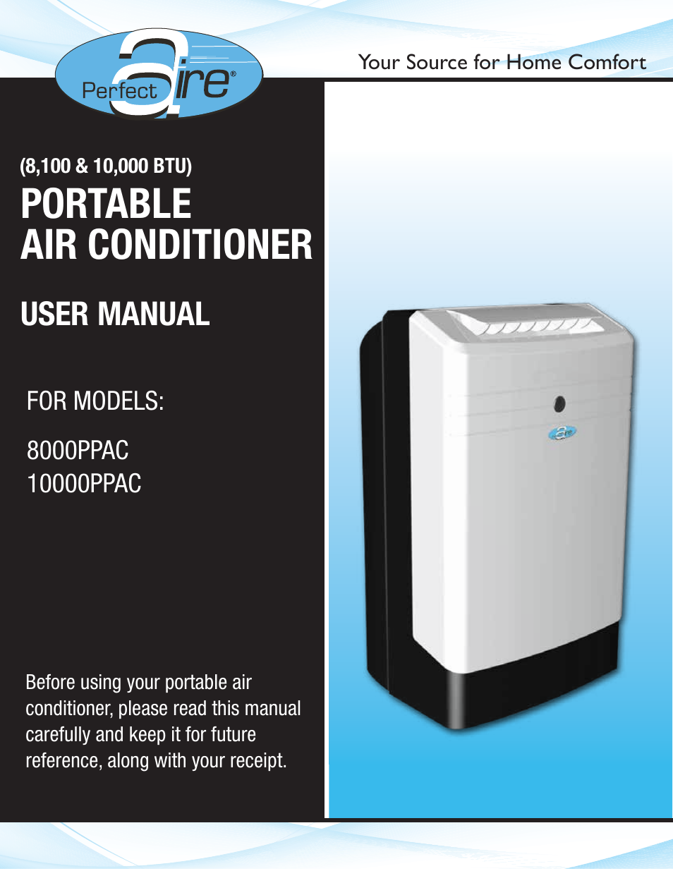 Perfect Aire 10000ppac User Manual 15 Pages Also For