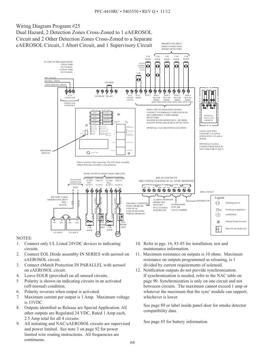 pfc wiring diagram 1986 chevy diesel alternator wiring diagram potter pfc-4410rc user manual   page 64 / 99 #3