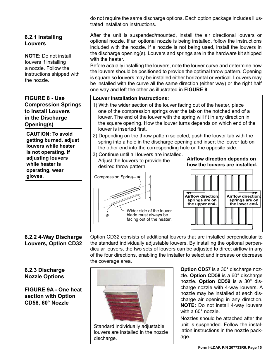 Reznor ldap unit installation manual user manual page 15 44 publicscrutiny Choice Image