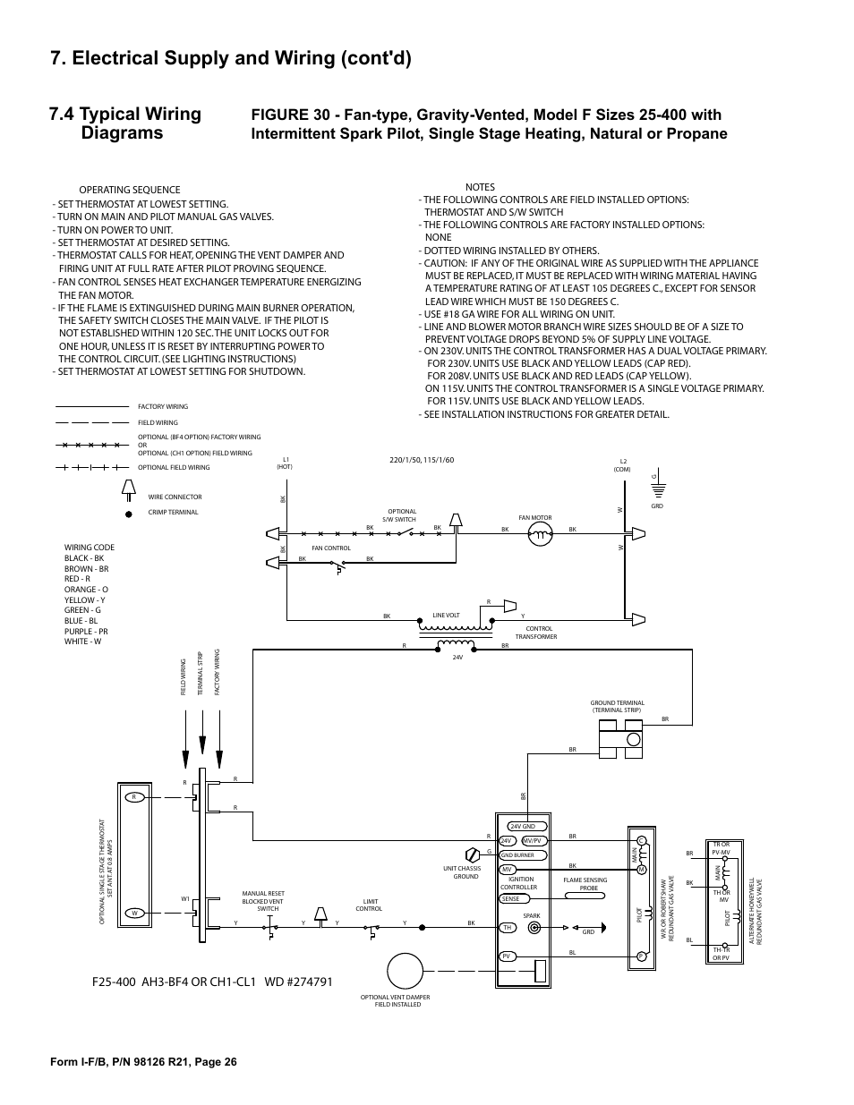 Reznor Furnace Blower Wiring Diagram 1977 Starting Know About Images Gallery Electrical Supply And Cont D 4 Typical