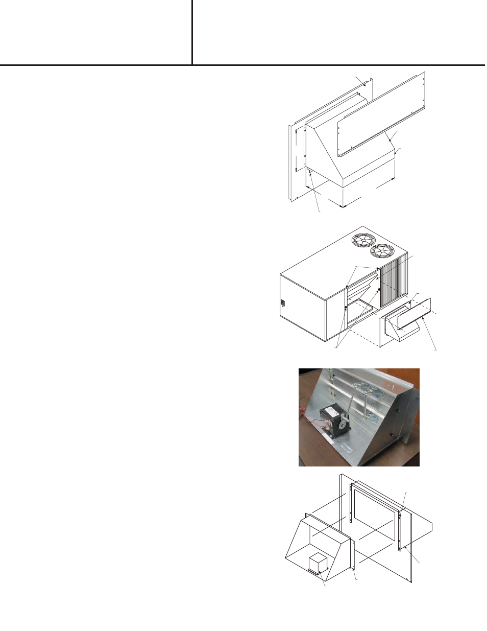 Reznor R6GP Option - Installatin - Outside Air Damper - Light