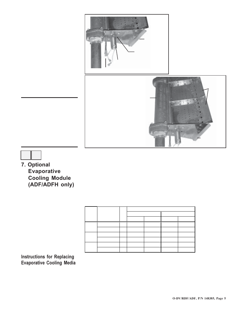 Reznor DV Operation Manual (for units built before August 2003) User Manual  | Page 6 / 25 | Also for: ADFH Operation Manual (for units built before  August ...