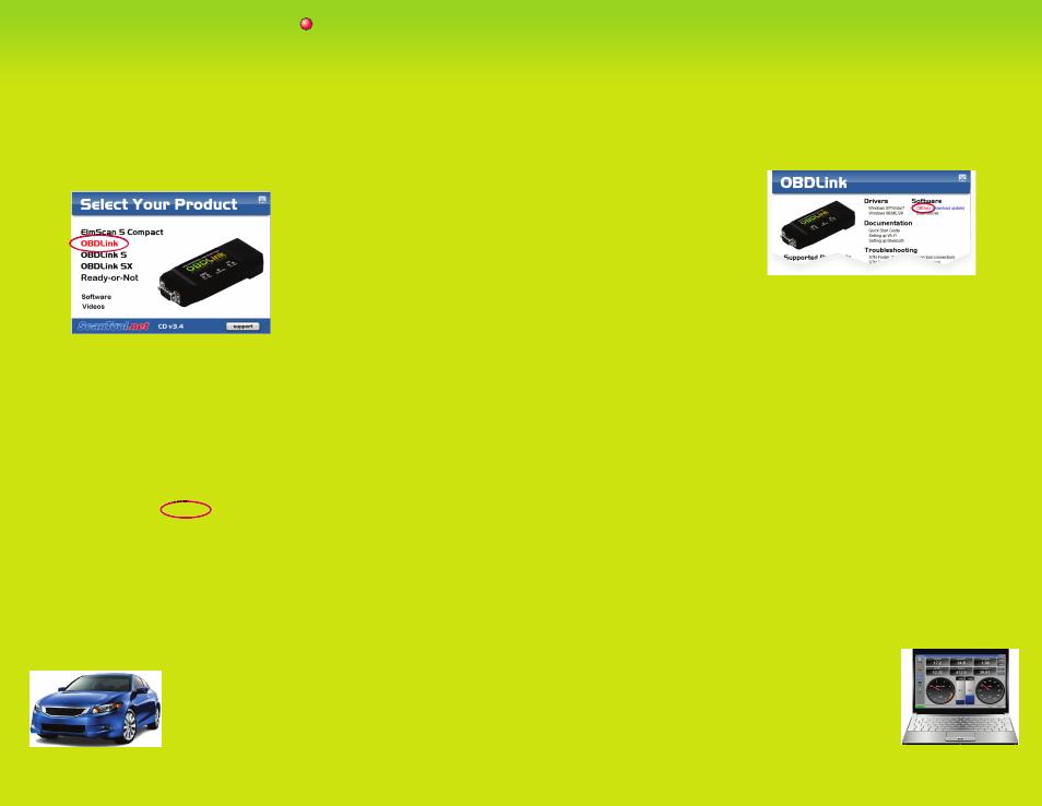 ScanTool OBDLink User Manual   2 pages