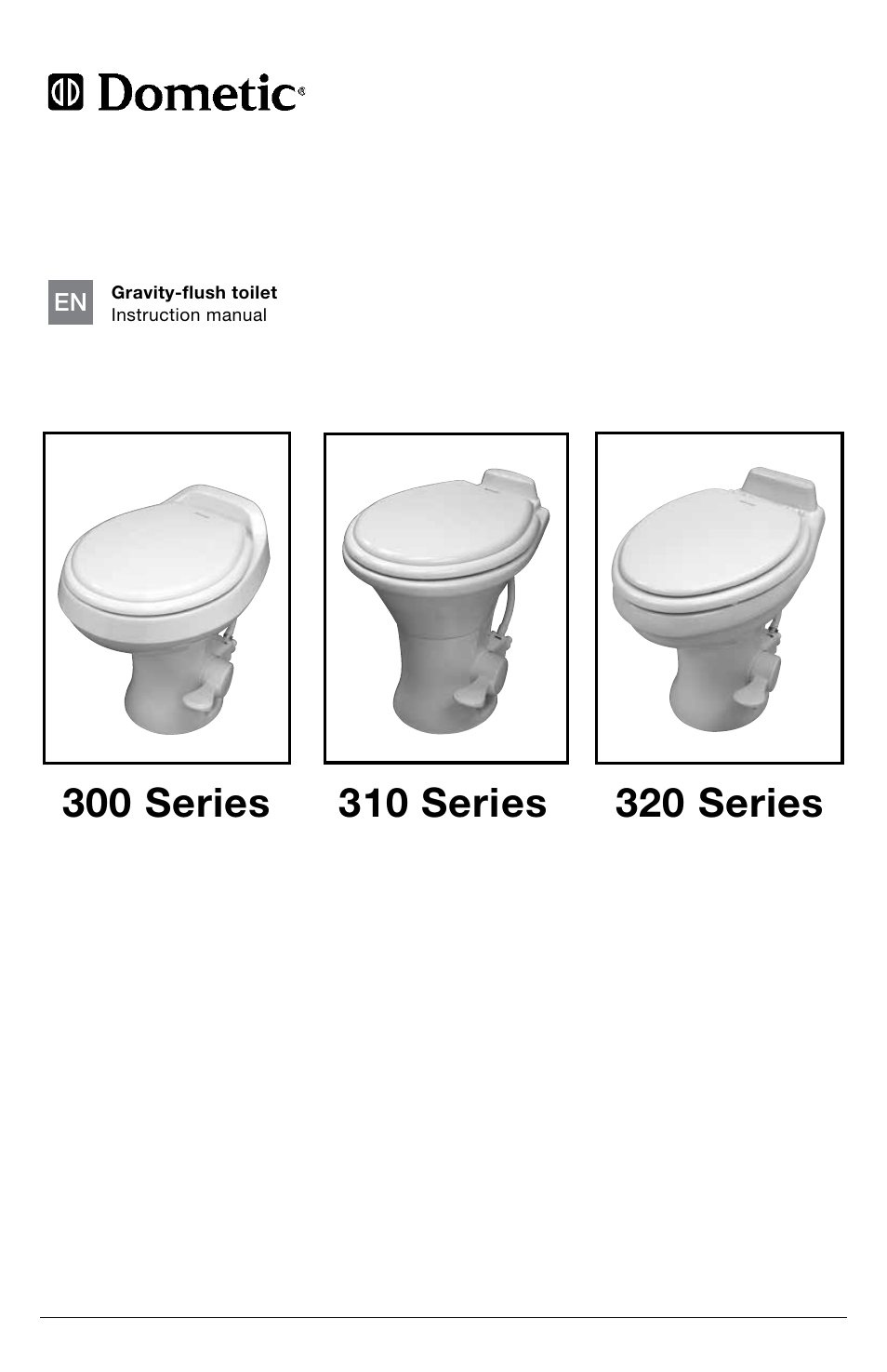 SeaLand 320 Series RV Toilet User Manual   16 pages   Also for: 310 ...