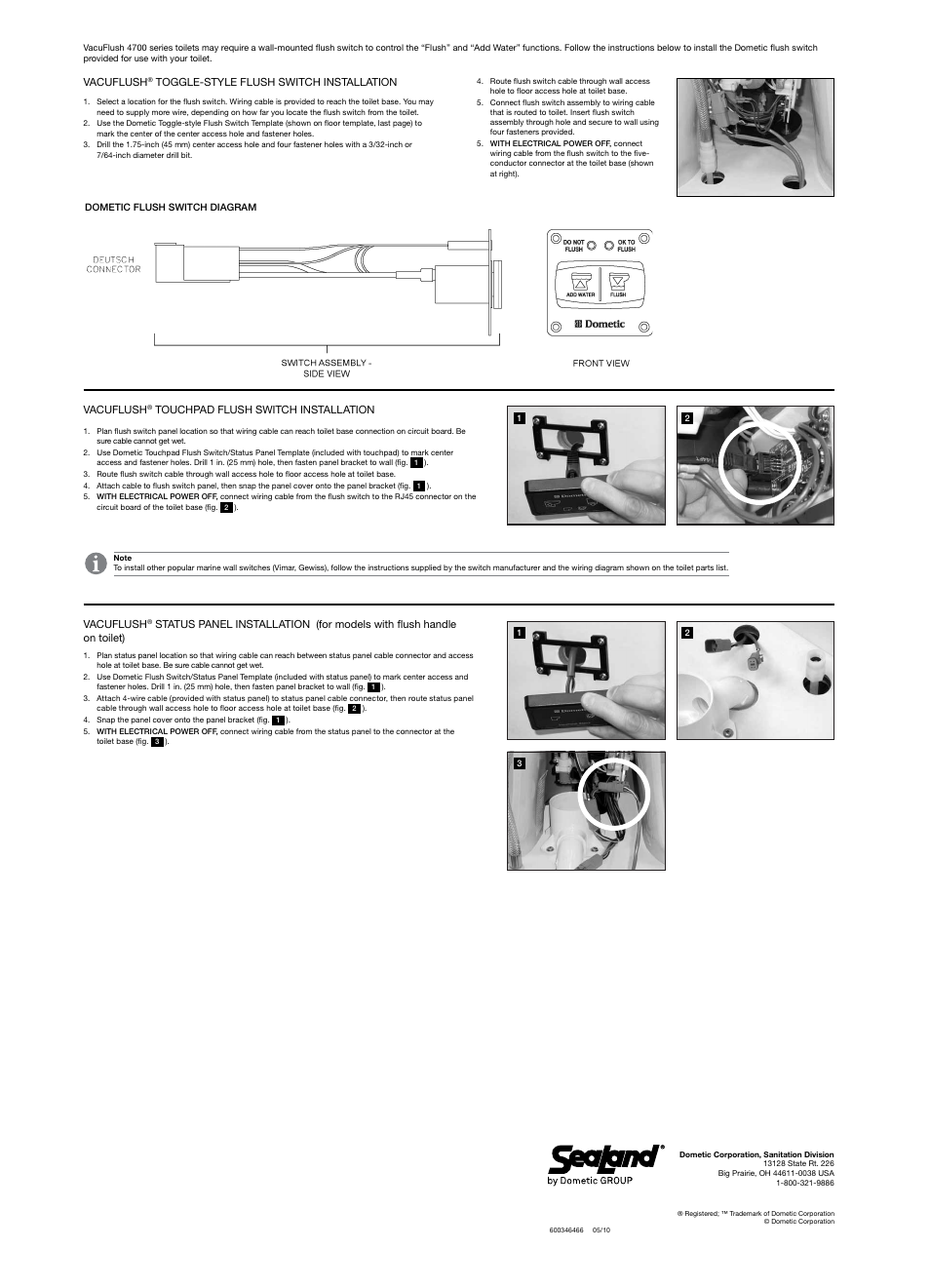 ... sealand vacuflush 4748 toilet page2 sealand vacuflush 4748 toilet user  manual page 2 4 also for