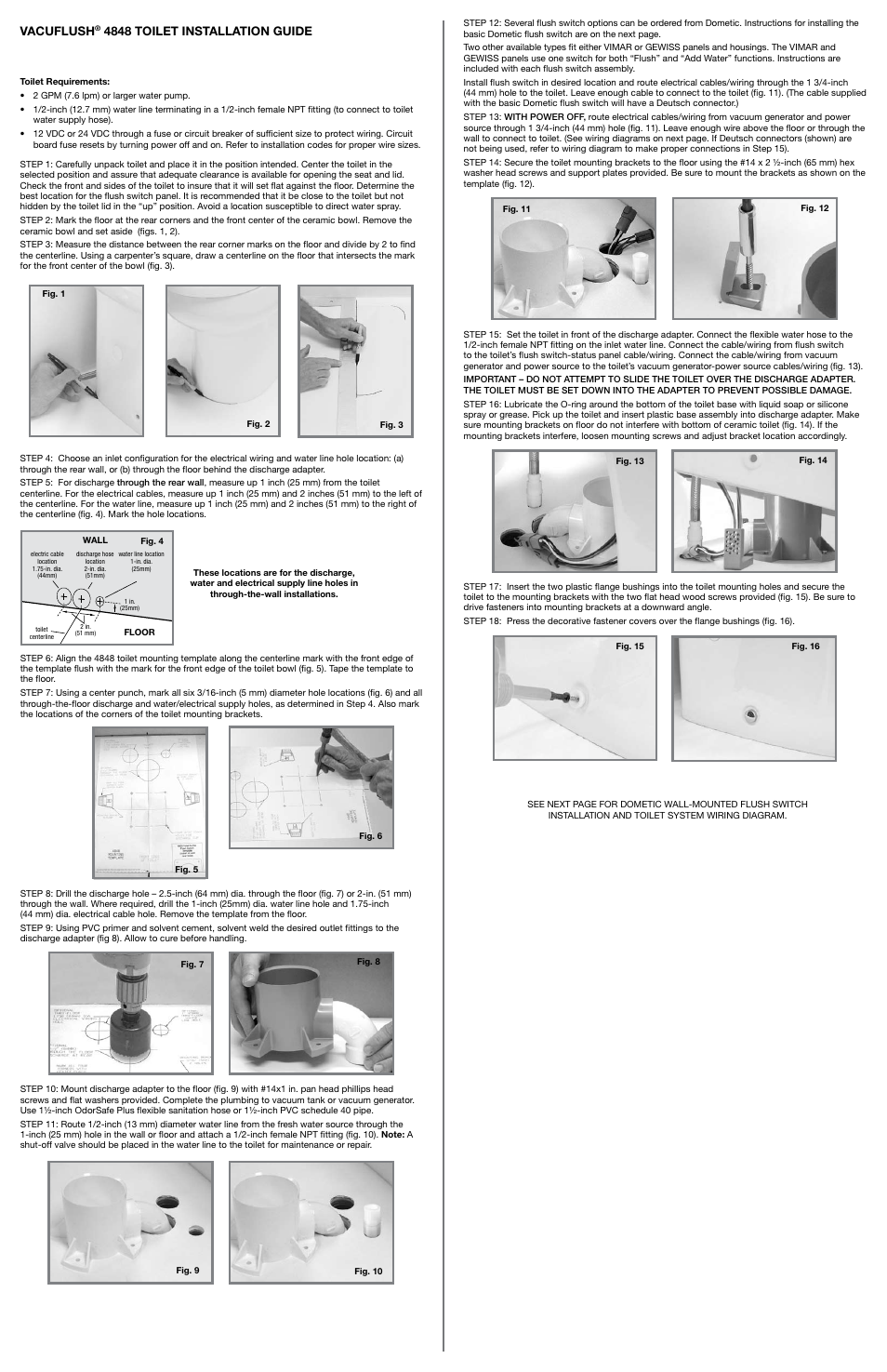 Sealand Vacuflush Toilet Page on Basic Electrical Wiring Diagrams