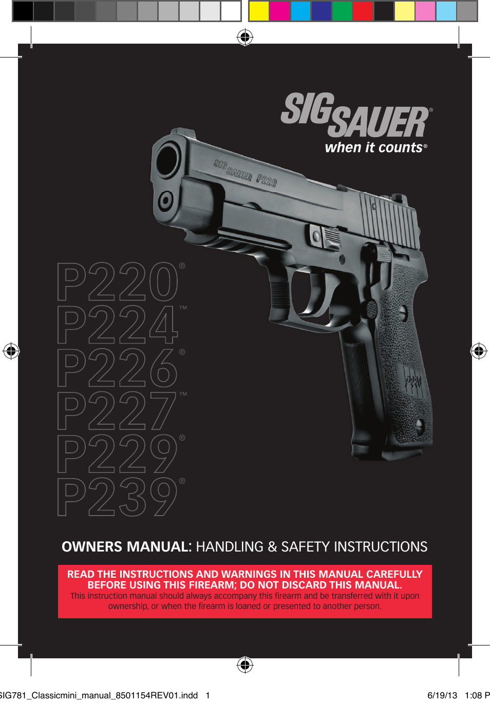 sig sauer p229 user manual 88 pages also for p227 p226 p224 rh manualsdir com sig sauer p320 user manual sig sauer owners manual