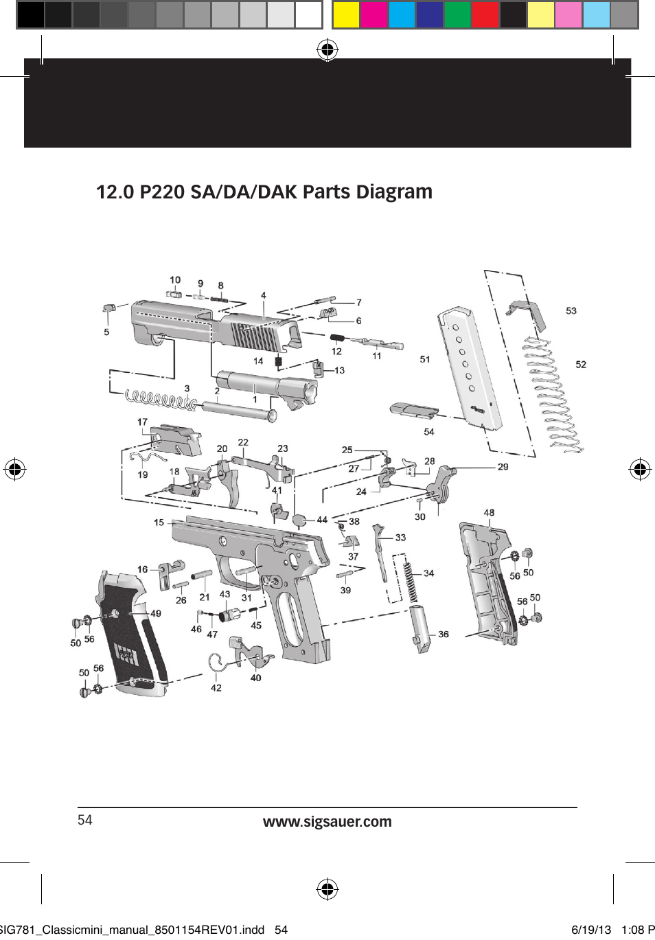 Astounding Sig P226 Parts Diagram Images Best Image