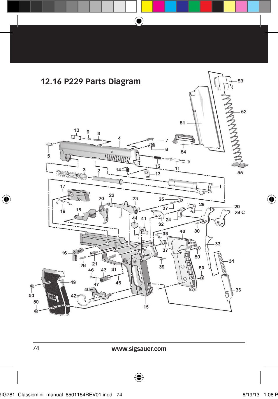 Sig Sauer P229 User Manual