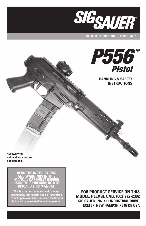 sig sauer p556 user manual 60 pages rh manualsdir com sig 556 manual pdf sig sauer 556 manual