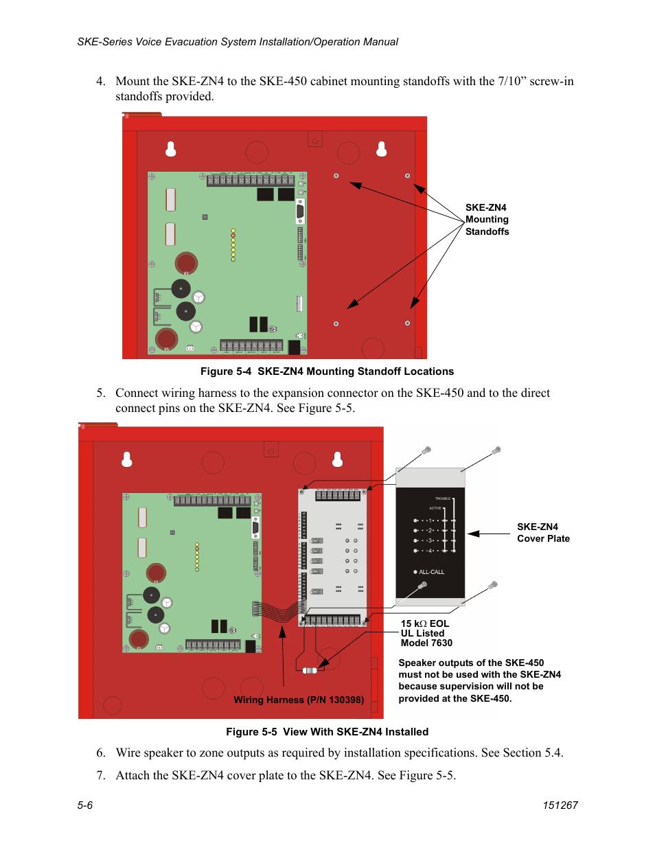 Silentknight Ske 450 Voice Evacuation Control Panel User Manual John Deere 450c Wiring Harness Page 40 76