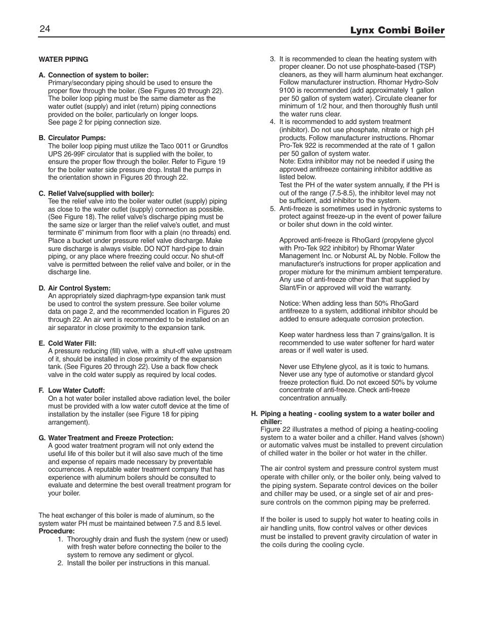 Lynx Combi Boiler 24 Slant Fin Lx 150cb User Manual Page 44 Wiring Diagram