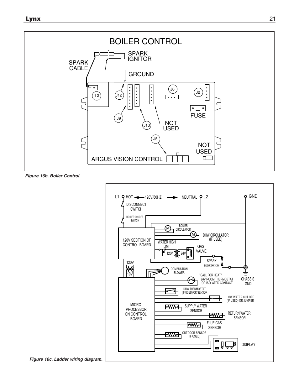 slant fin boiler wiring diagram wiring library old slant fin boilers hot water boiler control, lynx 21 argus vision control not used not used, spark ignitor spark