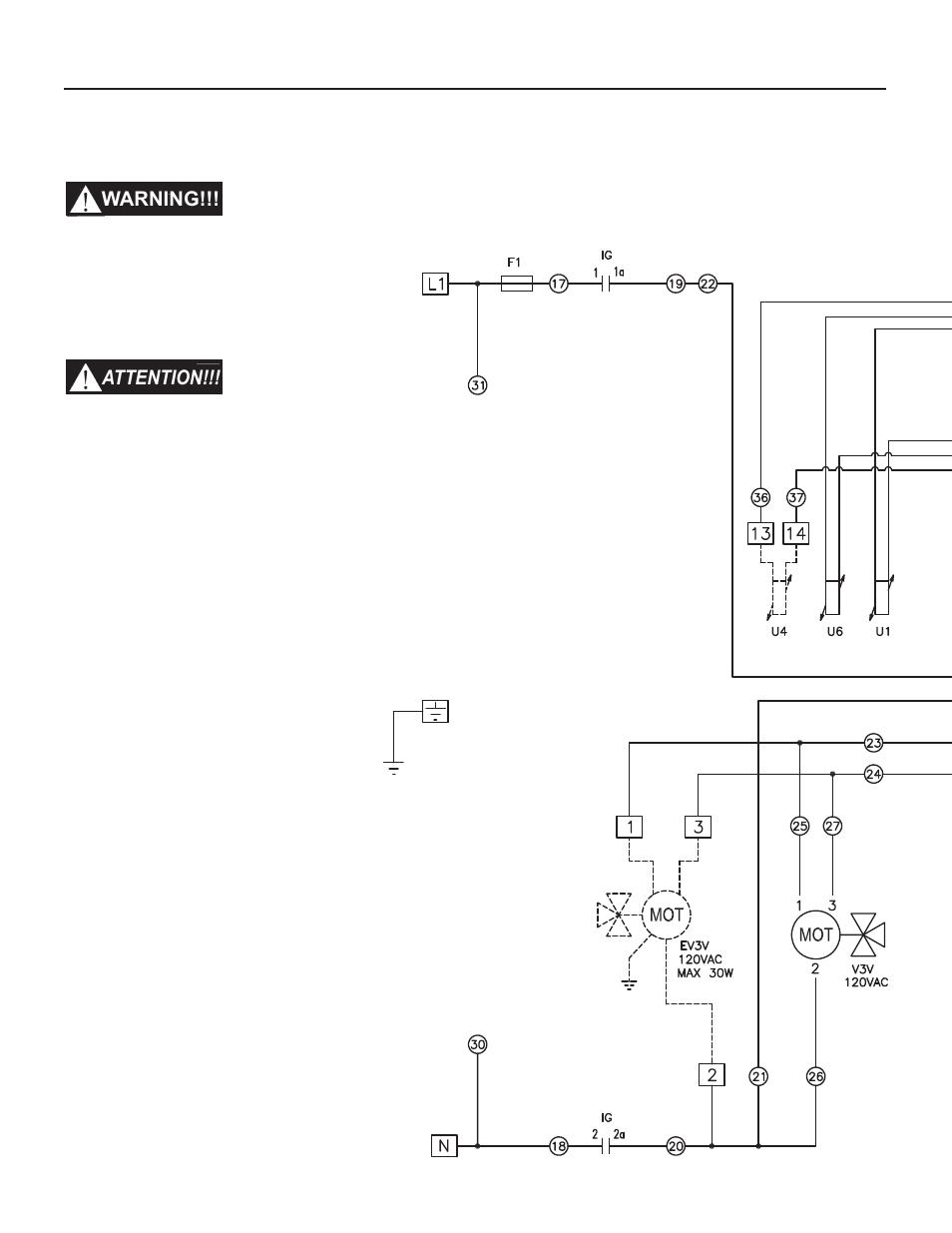 15 - functional wiring diagram, 14 - maintenance | Slant/Fin VSL-160C