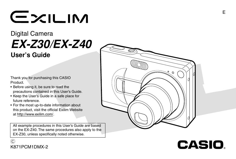 casio ex z40 manual product user guide instruction u2022 rh testdpc co Casio Watch Manual Casio Calculator Watch Manual