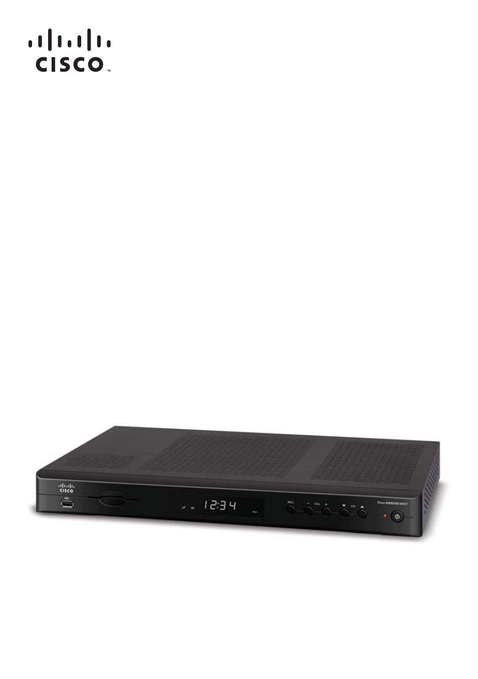 Cisco 8485dvb Hd Dvr Manual Pdf