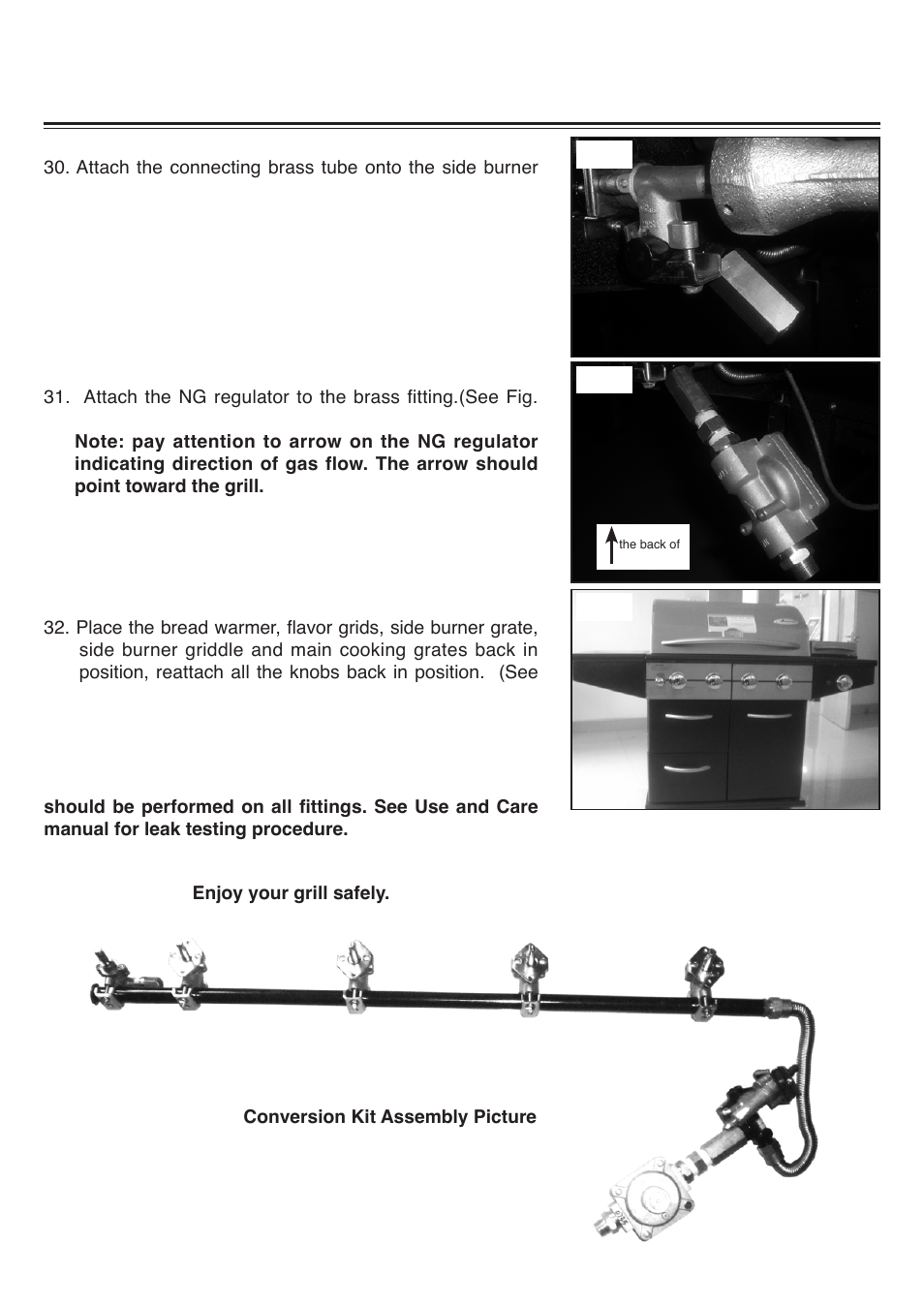 Am33 Lp P Natural Gas Conversion Instructions Sure Heat 2008 Amana Stove Wiring Diagram Kit User Manual Page 8