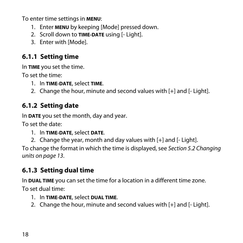 1 setting time 2 setting date 3 setting dual time suunto core rh manualsdir com suunto core instruction manual suunto core instruction manual