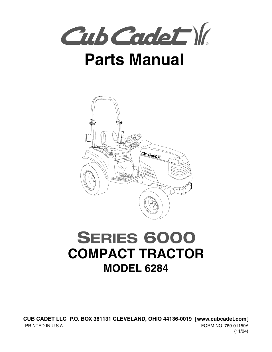 Cub cadet 6284 user manual 39 pages pooptronica