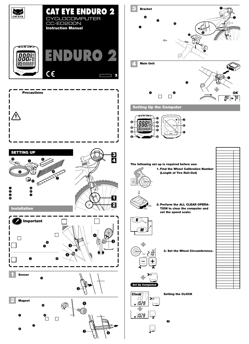 cateye cc ed200n user manual 2 pages also for cc Cat Eye Liner Cat Eye Computer Mount