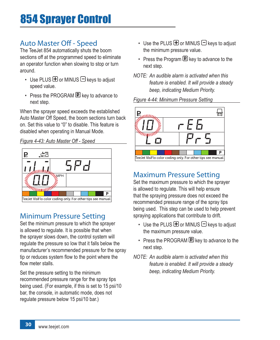 854 sprayer control | teejet 854 sprayer control user manual.