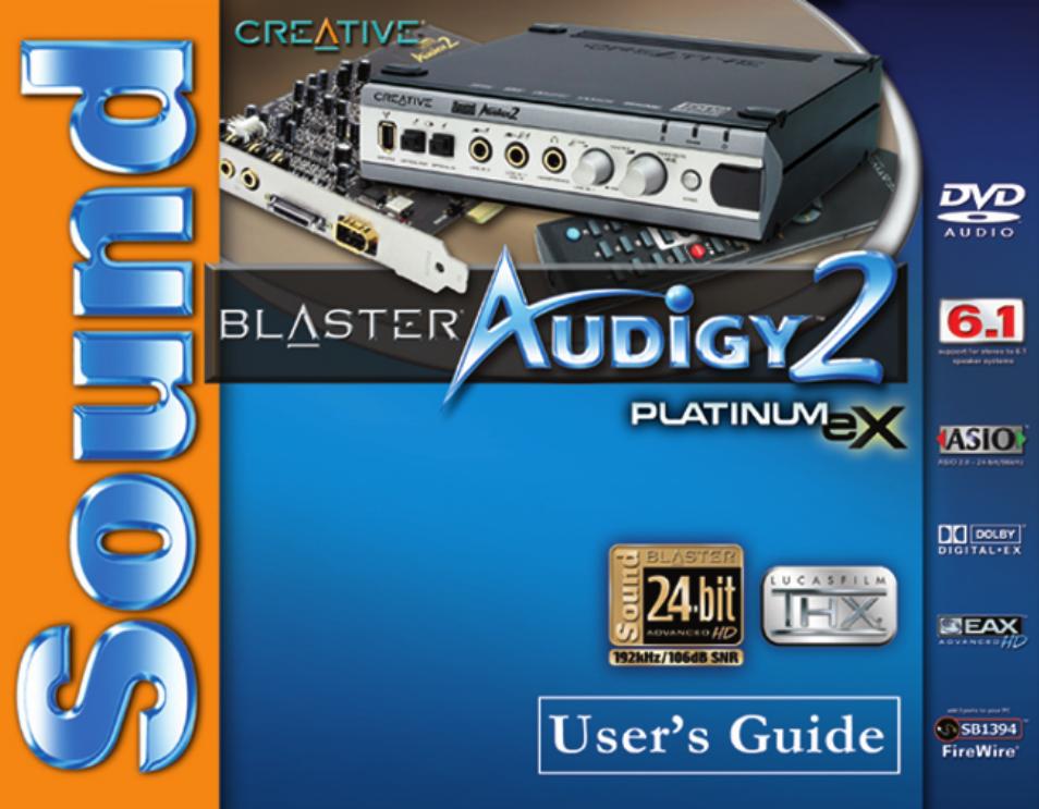 creative sound blaster audigy 2 platinum ex user manual 75 pages rh manualsdir com audigy 2 platinum ex manual creative audigy 2 zs manual pdf