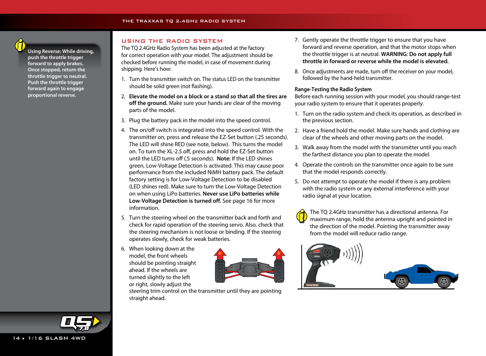 Traxxas 70054-1 User Manual | Page 14 / 26 | Original mode