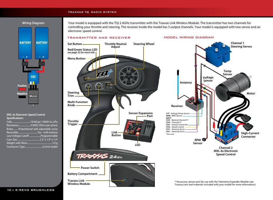 [WQZT_9871]  Traxxas 56087-1 User Manual | Page 10 / 36 | Traxxas Wiring Diagram |  | Manuals Directory