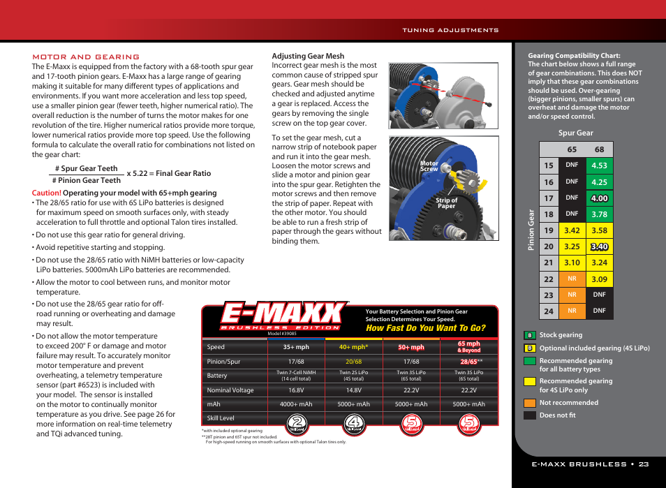Traxxas 39087-1 User Manual | Page 23 / 31