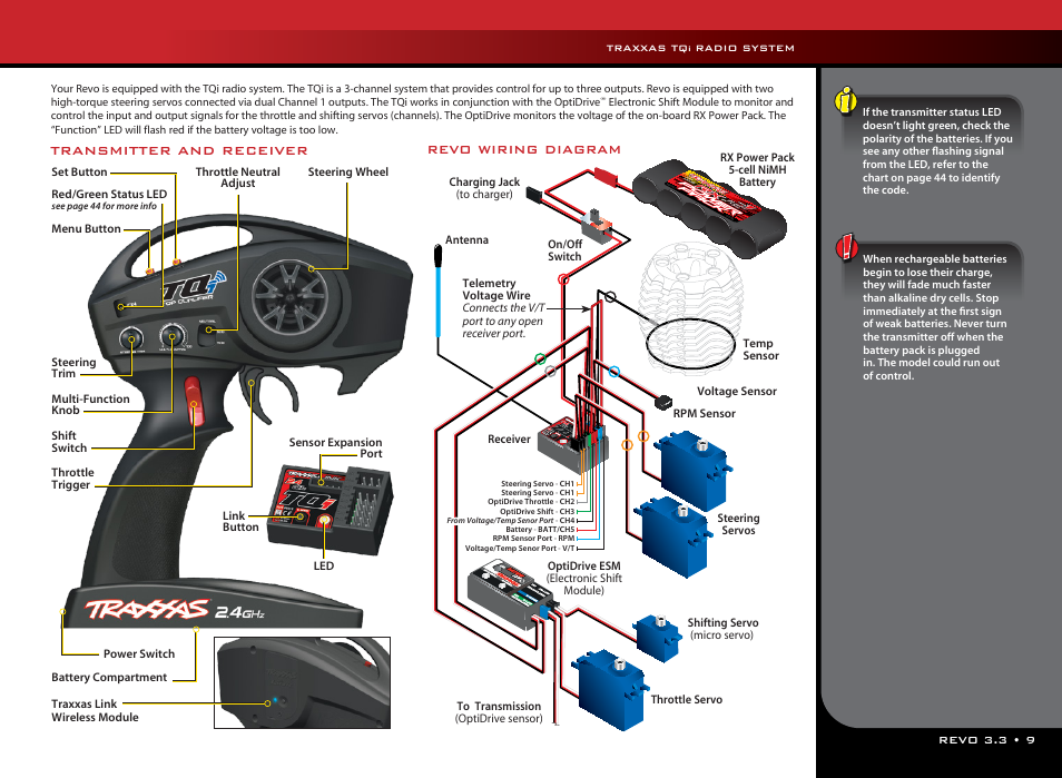 traxxas 53097 1 page9 traxxas tq, radio system traxxas 53097 1 user manual page 9 48 traxxas revo 3.3 wiring diagram at eliteediting.co