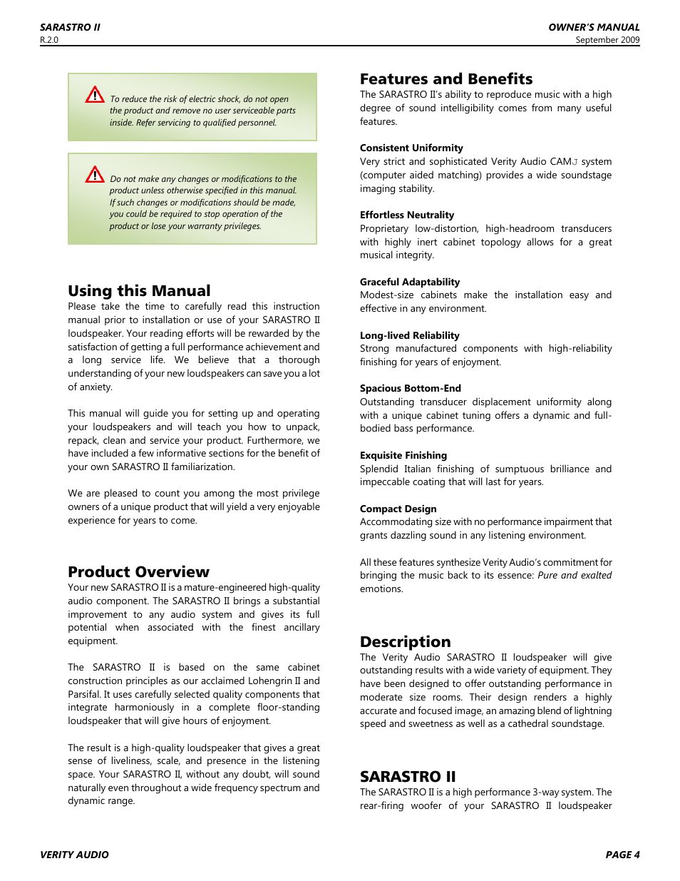 Using this manual, Product overview, Features and benefits