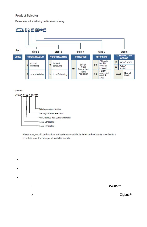 model chart network ready viconics vt7600w installation manual rh manualsdir com