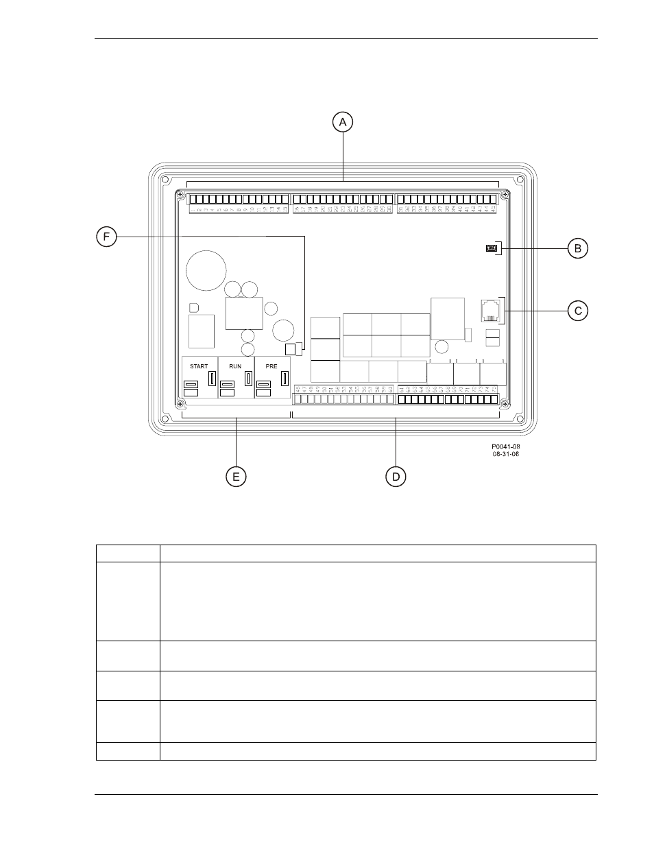 Rear Panel Figure 2 10 Dgc 2020 Hmi Table Usoc Cable Wiring Diagram Descriptions Winco User Manual Page 33 193