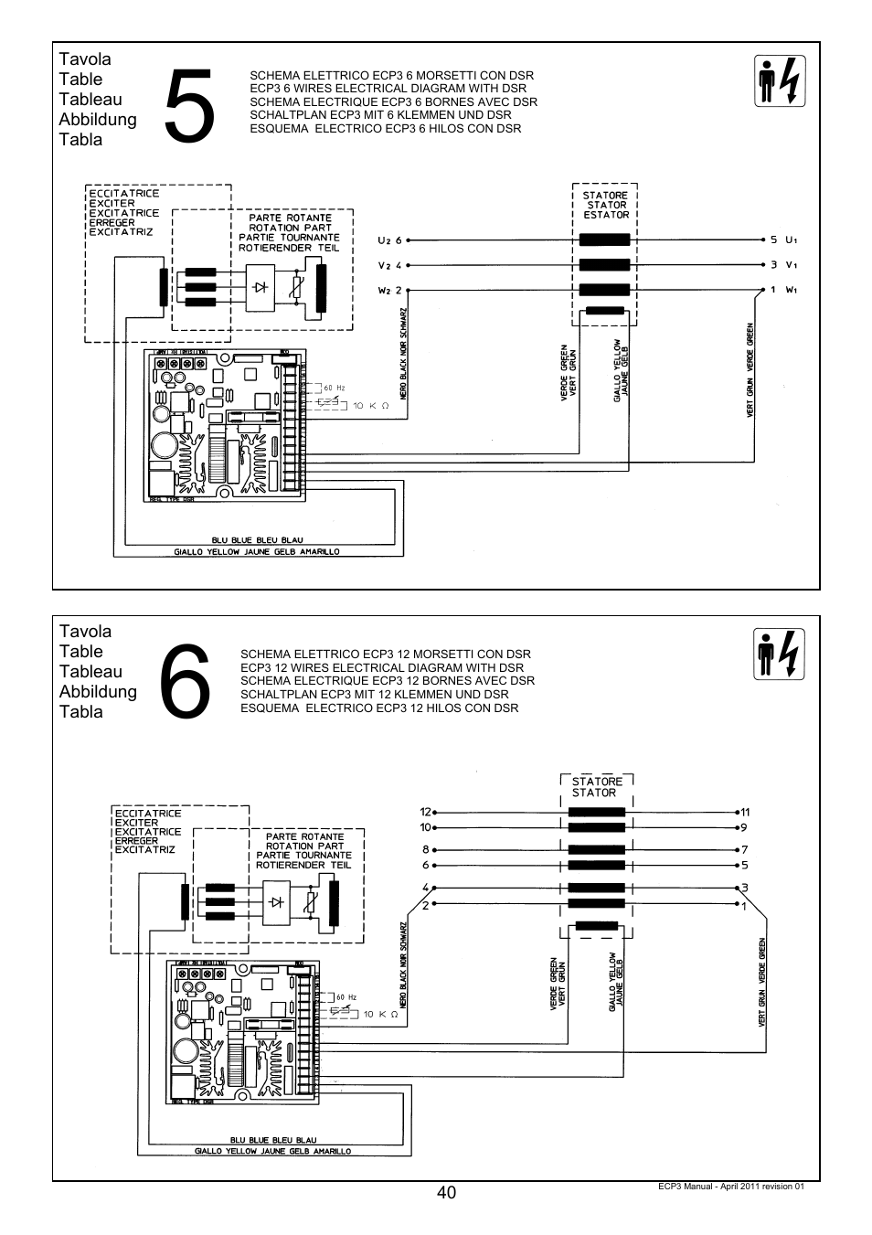 Winco Ecp3 2ln 2 Replaces Eco3 User Manual Page 40 50 Ecp Wiring Diagram