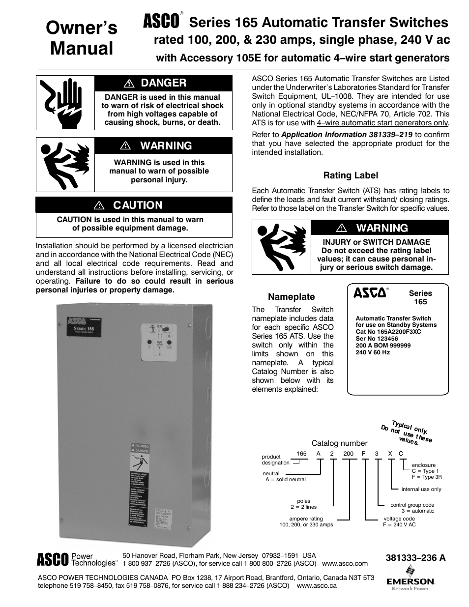Winco ASCO 165 4-Wire User Manual | 8 pages on 4 wire motor diagram, 4-way switch diagram, 4-way circuit diagram, 55 chevy headlight switch diagram, 4 wire pull, 4 wire fan diagram, 2-way switch diagram, 3 speed fan switch diagram, switch connection diagram, 3-way switch diagram,