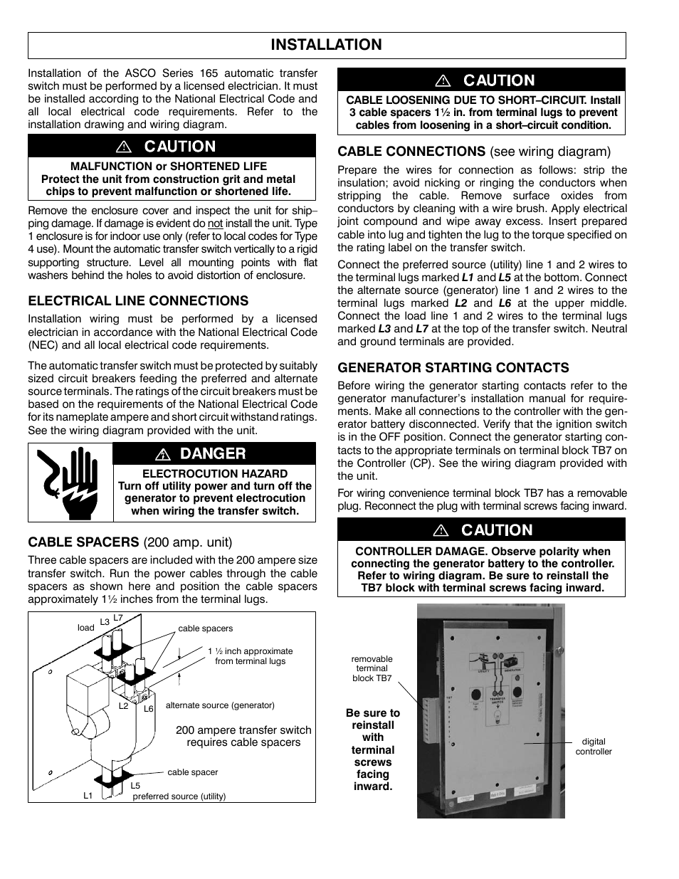 Asco 2wire Wiring Diagram Great Installation Of Electrical Schematic Polarity Winco 165 2 Wire User Manual Page 4 8 Rh Manualsdir Com