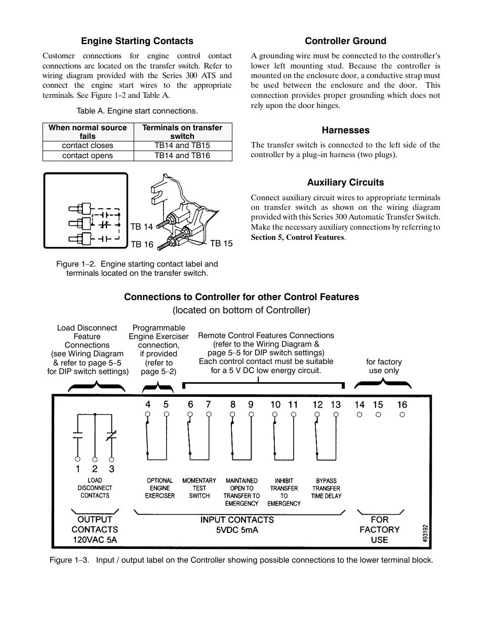 Asco 300 Transfer Switch Wiring Diagram Modern Design Of 165 940 Generac Generator Series