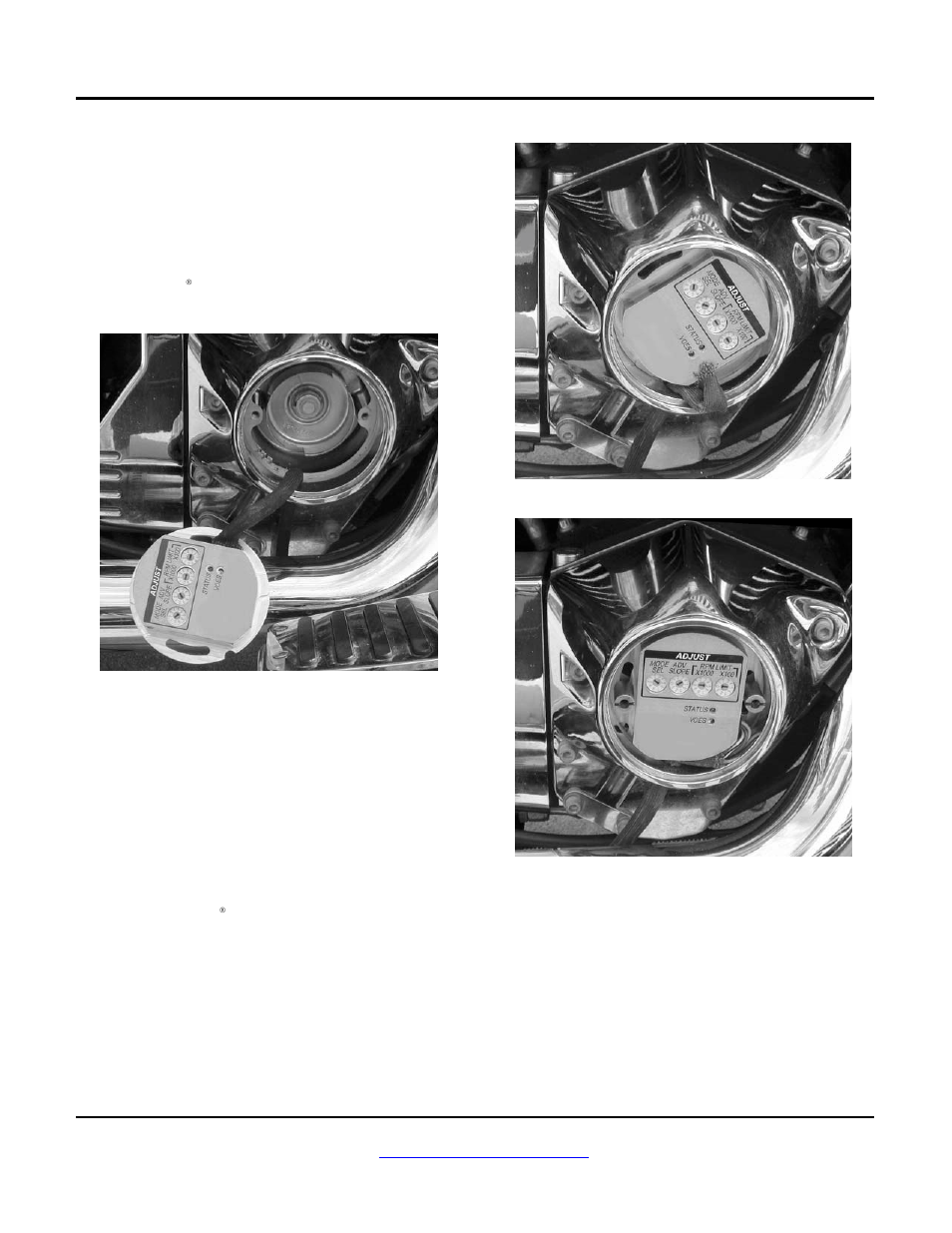 Installation | Zipper's Performance 317-105 User Manual | Page 2 / on wire strap, wire bushing, wire tape,
