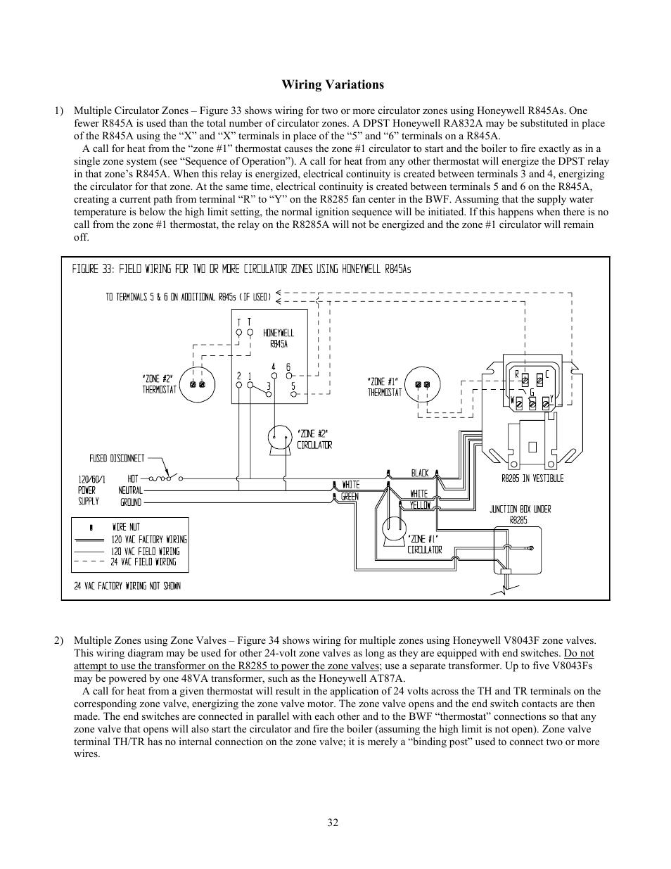 Crown Boiler Wiring Diagram Detailed Schematics Transformer Bwf061 User Manual Page 33 54