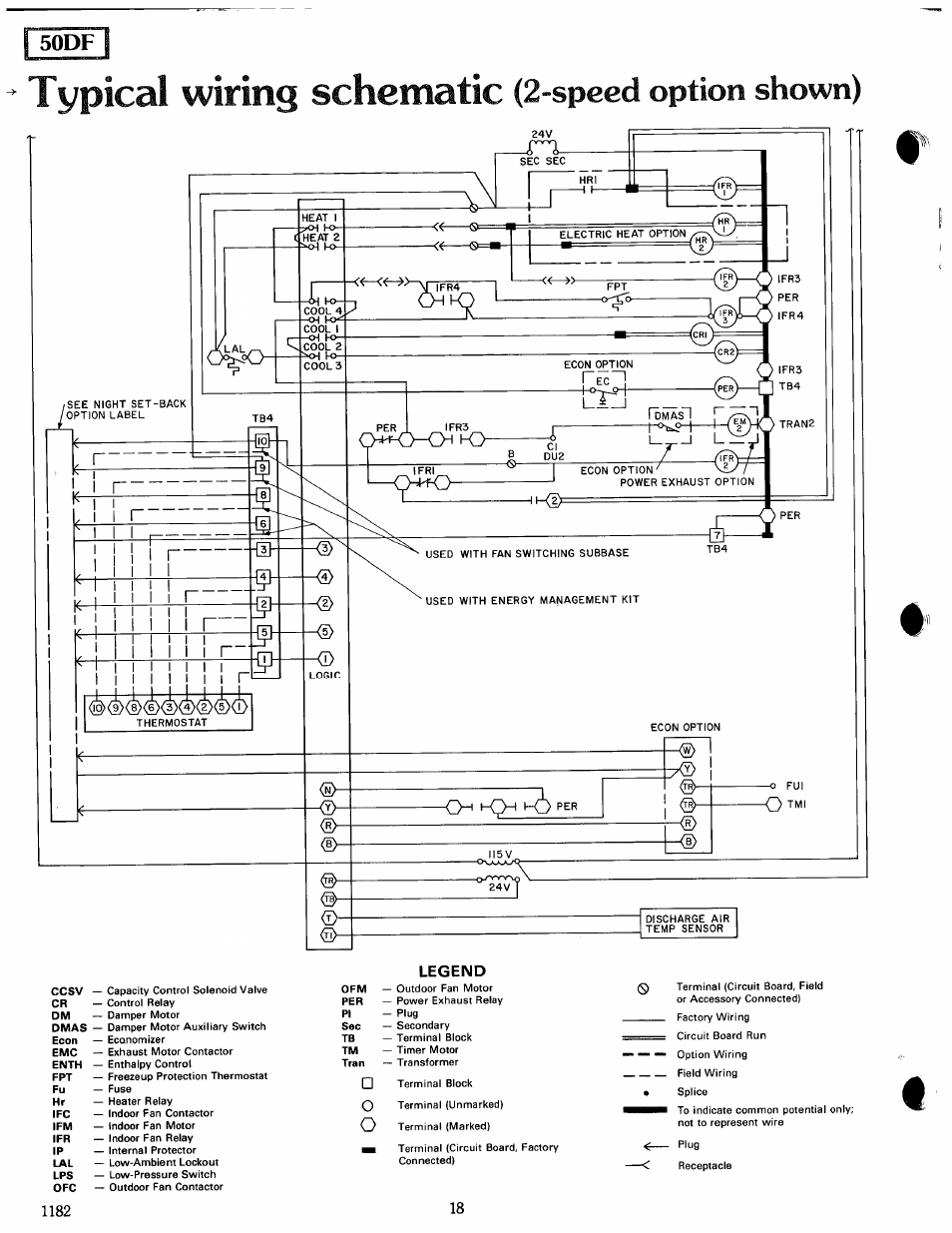 Fsodfl Ccsv Typiccll Wiring Schematic Carrier Modu Pac 50df User Contactor Diagram Manual Page 18 37