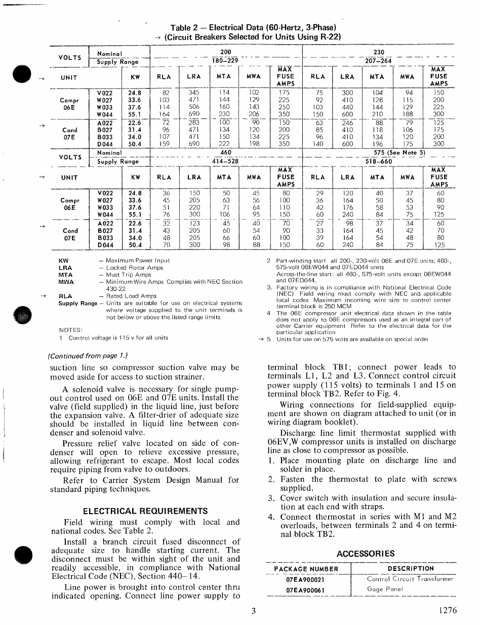 Unique 14 3 wire amps composition electric circuit diagrams electrical requirements accessories carrier 06e user manual greentooth Images