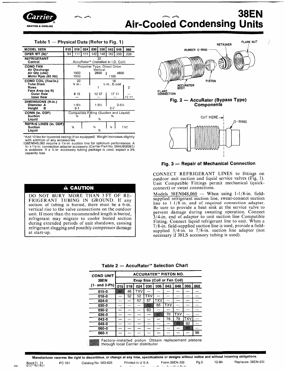 A Caution Fig 3 Repair Of Mechanicai Connection Table 2 Singer Condenser Outdoor Unit Wiring Diagram Accurater
