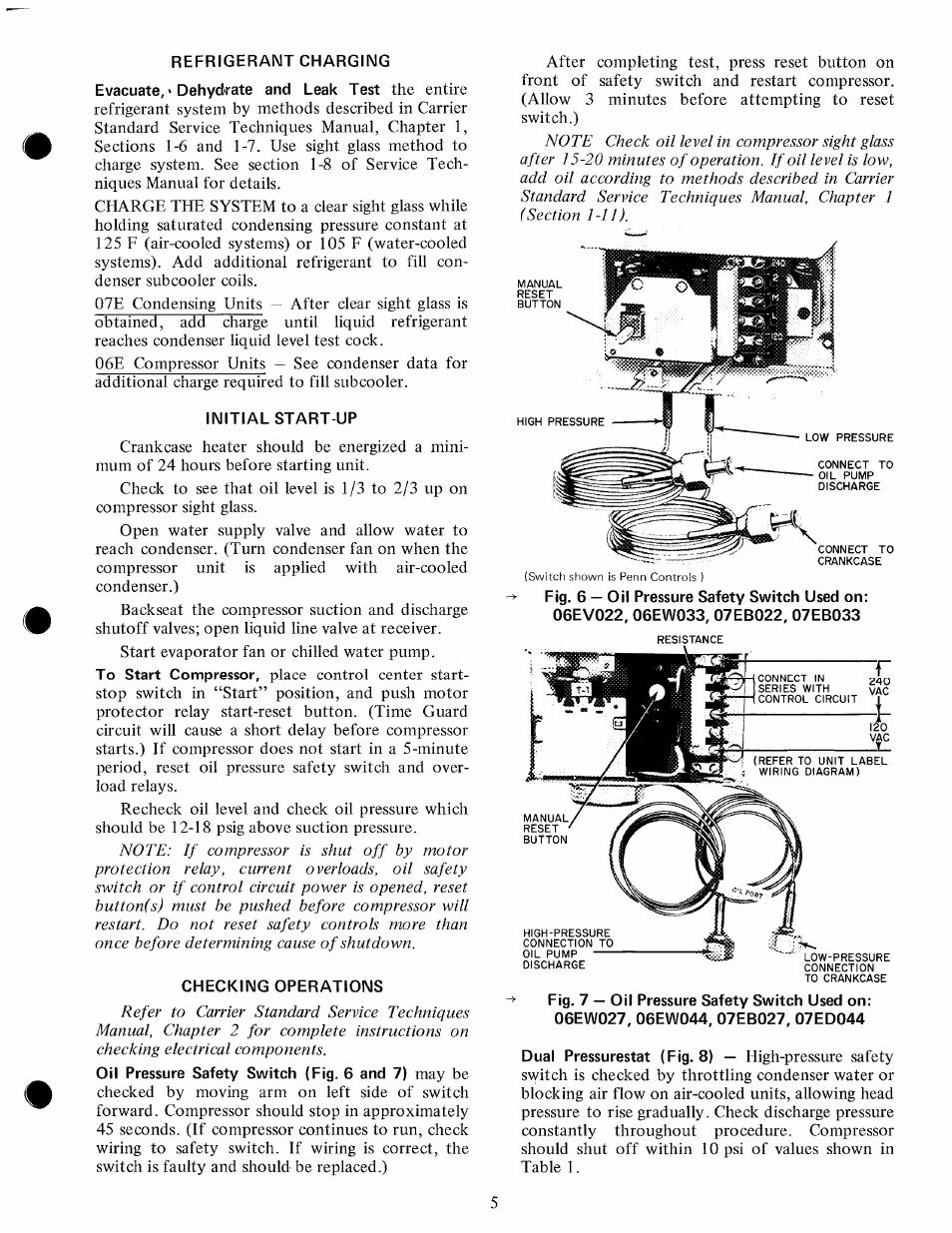 carrier 07e user manual page 5 16 rh manualsdir com Carrier Thermostat Manual Carrier 58MXA