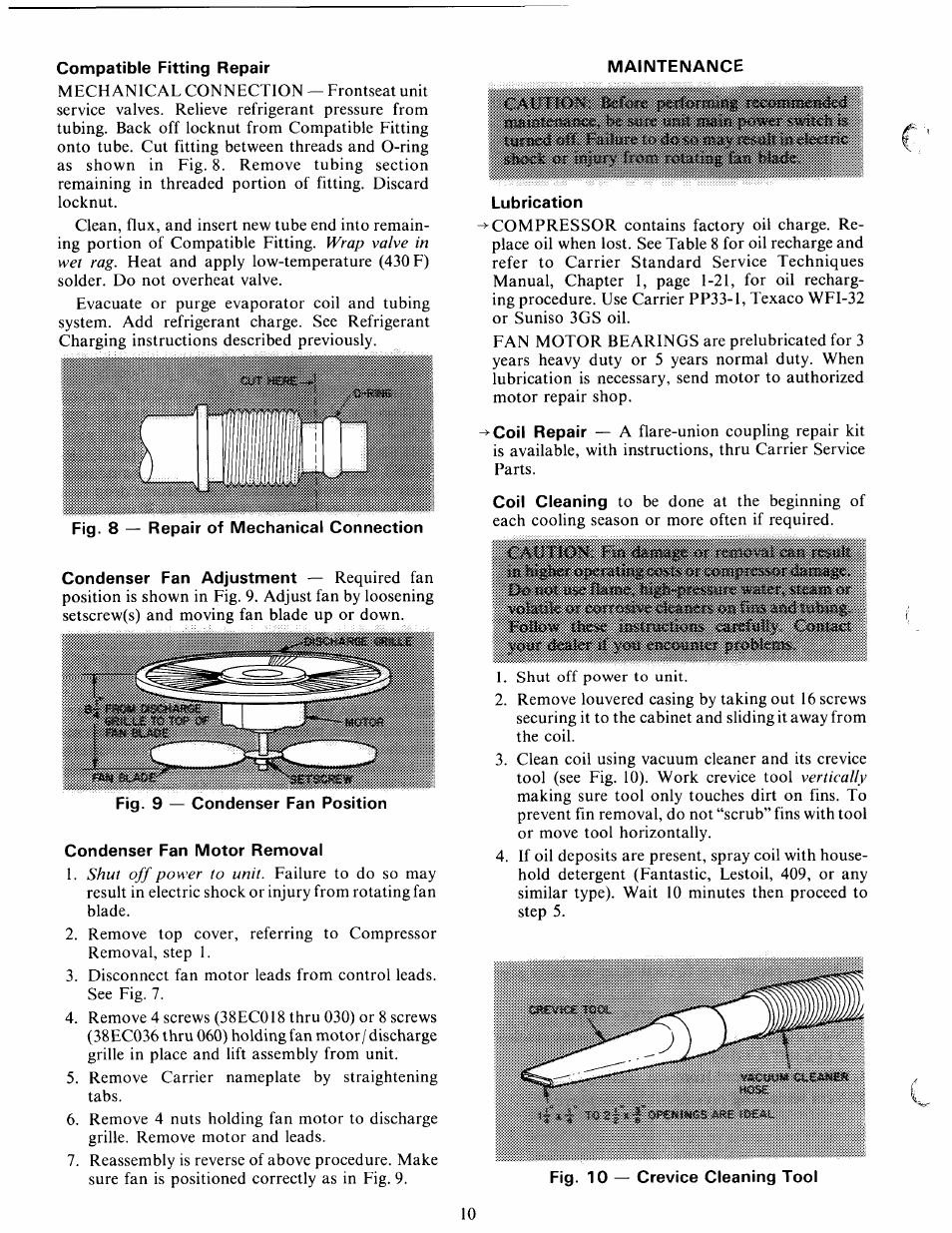 carrier 38ec user manual page 10 12 rh manualsdir com Carrier Model Number Search Carrier Thermostat Manual
