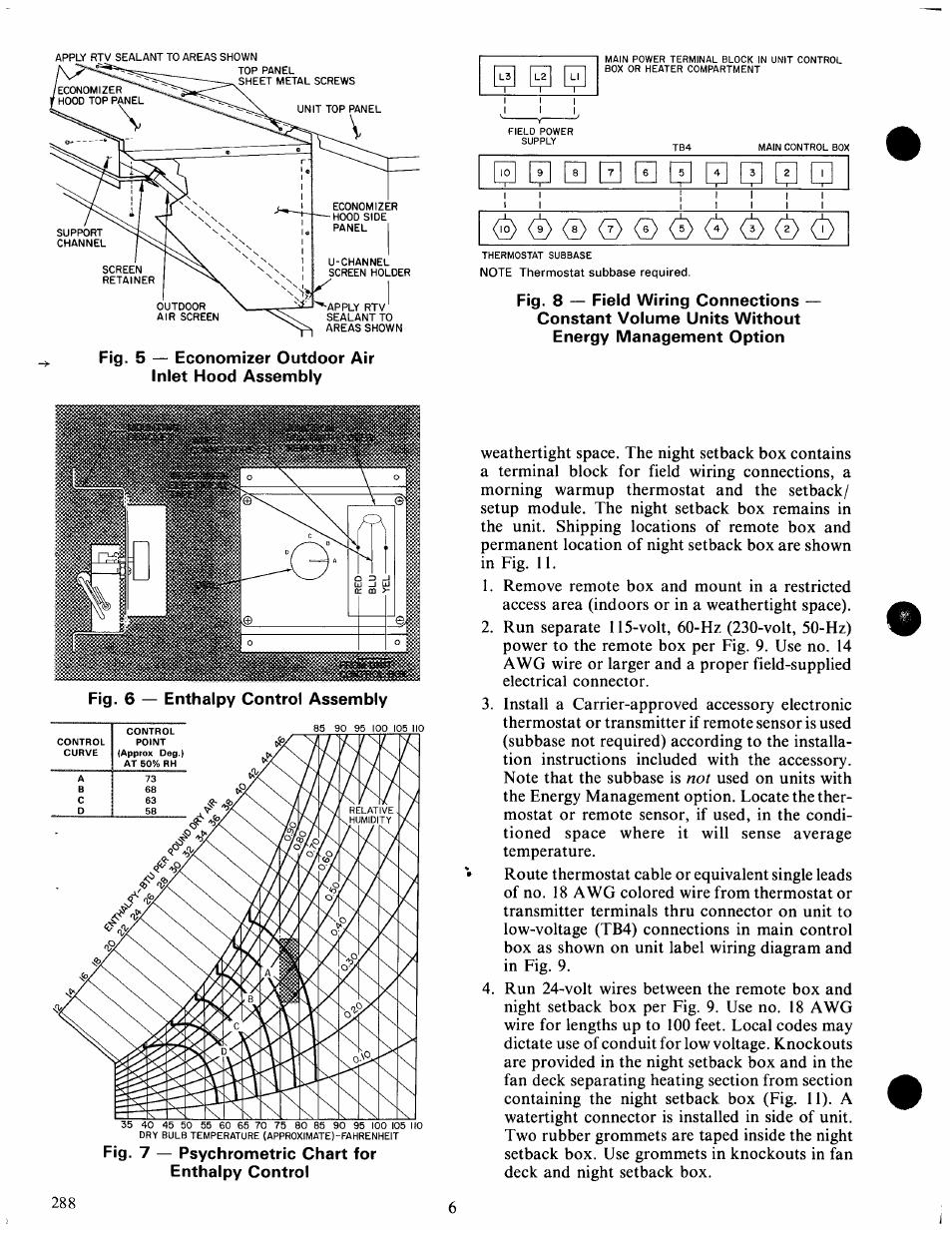 California Economizer Wiring Diagram Trusted Fahrenheit Carrier Trane Thermostat Humidifier
