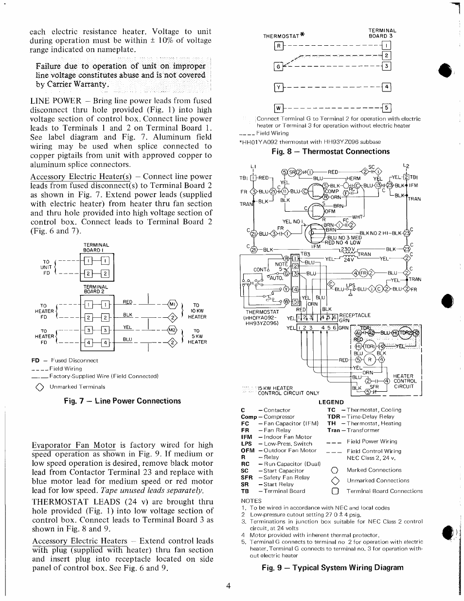 Fig. 7 — line power connections, Fig. 9 — typical system ... Kw Wiring Diagram on pa wiring diagram, ge wiring diagram, ac wiring diagram, gm wiring diagram, sd wiring diagram, mg wiring diagram, st wiring diagram, jp wiring diagram, tj wiring diagram, hp wiring diagram, ag wiring diagram, td wiring diagram, ml wiring diagram, cm wiring diagram, sh wiring diagram, dj wiring diagram, ae wiring diagram, cr wiring diagram, sg wiring diagram, tv wiring diagram,