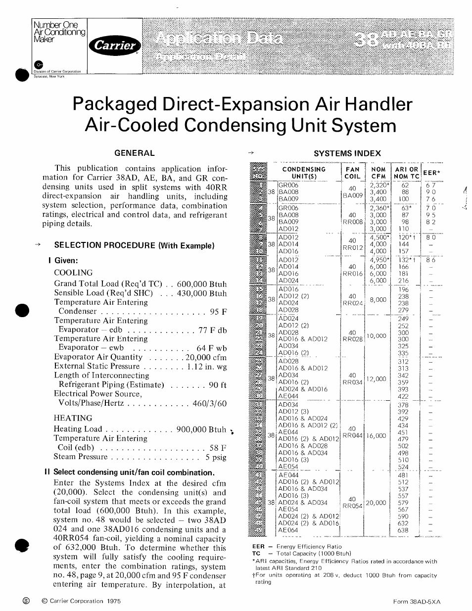Carrier 38ba User Manual 20 Pages Also For 38ad 38gr
